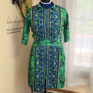 Vintage 1960s mini tunic dress